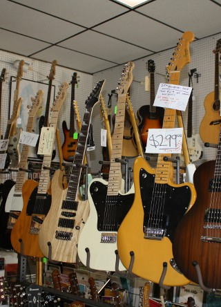 Jupiter Music Store has a large selection of Guitars