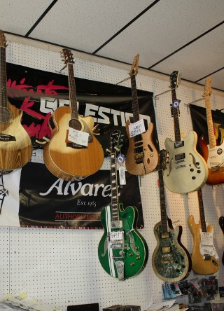 Jupiter Music has a large selection of acoustic and electric guitars