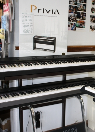 Jupiter Music has Casio Privia Keyboards
